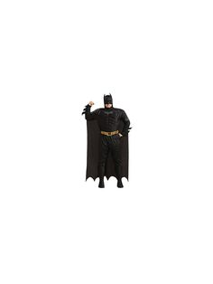 The Dlx Dark Knight Muscle Chest Batman Plus Adult Costume is the best 2019 Halloween costume for you to get! Everyone will love this Mens costume that you picked up from Wholesale Halloween Costumes! Batman Costumes, Cheap Halloween Costumes, Adult Costumes, Batman The Dark Knight, Batman Dark, Plus Size Costume, Super Hero Costumes, Captain America, Superman