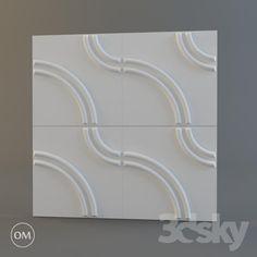 """""""OM"""" 3d wall panel """"Artpole"""", Karlstad Pop Design, Texture Design, Wall Design, Textured Wall Panels, 3d Wall Panels, 3d Pattern, Patterns, 3d Tiles, 3d Wall Decor"""