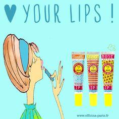 Love your lips! Pensez à protéger vos lèvres en hiver...  Les Baumes Lèvres Figs & Rouge dans de jolis tubes au design pétillant, vibrant et unique, pour des lèvres lisses d'une douceur irrésistible. La formule 100% naturelle, ultra-hydratante, offre une protection instantanée & une brillance parfaite. Figs & Rouge Lipbutter (tube). 10g. 5,90€ #lipbutter #soinlevres #lips #figsandrouge #levres #hydrater #hiver #bio #naturel #cosmetiquesbio #beautebio #fruits www.officina-paris.fr