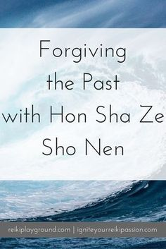 Forgiving the past with Hon Sha Ze Sho Nen. HSZSN Reiki symbol Reiki visualization Today let's talk about forgiveness. Allowing ourselves to move past what has hurt us and get on with our lives. You don't have to forget. Indeed, remember what happened to Reiki Meditation, Daily Meditation, Kundalini Yoga, New Age, Was Ist Reiki, Chakras Reiki, Usui Reiki, Reiki Courses, Reiki Training