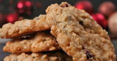 Chewy Oatmeal Cookies Cookie Recipes video recipe – The Most Practical and Easy Recipes Oatmeal Cookie Recipes, Oatmeal Raisin Cookies, Oatmeal Chocolate Chip Cookies, Oat Cookies, Milk Cookies, Granola, Banana Prata, Real Food Recipes, Cooking Recipes