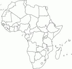This Is A Blank World Map For Use With Any Assignment Requiring A - Blank world map blackline master