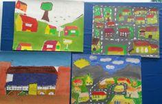 Town art grade 4-7
