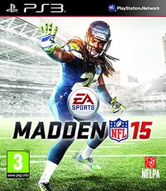 Madden 15 NFL Football Playstation 3 used video game available for sale. Playstation, Xbox 360, Ea Sports, Sports Models, Sports Toys, Video Game Ps4, Lisalla Montenegro, Instant Gaming, Sports Games For Kids