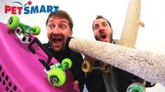 PETSMART SKATE EVERYTHING WARS! – Braille Skateboarding: Source: Braille Skateboarding