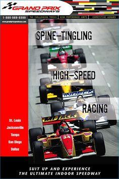 Grand Prix Speedways Poster. © Phase 1 Communications LLC