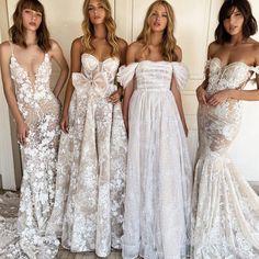 Like perfect angels #Berta #vakkowedding #bridal Retro Wedding Dresses, Short Lace Wedding Dress, Bridal Wedding Dresses, Wedding Dress Styles, Designer Wedding Dresses, Boho Wedding, Wedding Blog, Dream Wedding, Wedding Ideas