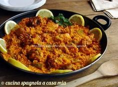 Paella, Risotto, Spanish Food, Tex Mex, Love Food, Macaroni And Cheese, Valencia, Curry, Homemade
