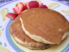 Low Fat Buttermilk Pancakes