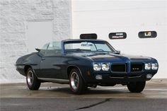 1970 Pontiac GTO Convertible - Barrett-Jackson auction (sold, $68,200, Apr 2013)