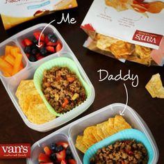 Show Dad some extra love on Father's Day with a special LUNCH! // Daddy & Me Lunches via Keeley McGuire & @vansfoods