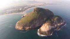 Bidudigital - Imagens aéreas do Recreio dos Bandeirantes - RJ.