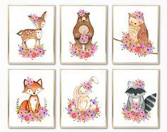 Woodland Nursery. Woodland Nursery Art. Woodland Nursery Girl. Girl Woodland Nursery. Woodland Nursery Prints. Woodland Girl Nursery.
