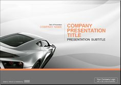 Automotive PowerPoint Template 2 - Automotive Powerpoint Templates - PowerPoint Templates #automotive_power_point_design_template #automotive_ppt_design_template #sports_car_presentation_template #motor_ppt_template