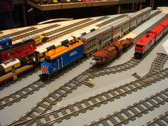 Lego trains @ Brickworld 2012'