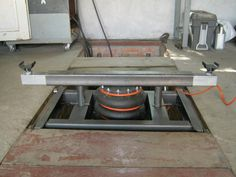 Домкрат-подъемник передвижной для ямы гаража (пока проджект)