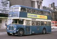 Old Bus Photos - Old bus Photos and informative copy Air Fighter, Double Deck, Bus Coach, London Bus, Bus Stop, Busses, Commercial Vehicle, Bradford, Motor Car