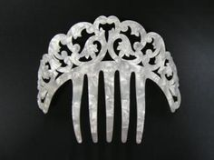 Mother of Pearl Comb - ref. Flamenco Costume, Flamenco Dresses, Rocker Style, Hair Ornaments, Hat Pins, Wedding Hairstyles, Hair Accessories, Bling, Hair Combs