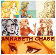 Annabeth Chase collage (Except I think that's Luna thrown in there...)