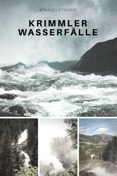 Krimmler Wasserfälle - Salzburgerland - Pinzgau - Krimml - Salzburg - Österreich - Wasserfall Heart Of Europe, Journey, Board, Places, Travel, Austria, La Mode, Salzburg Austria, Road Trip Destinations