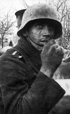 Italian soldier, 1944. After the Armistice.