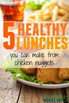 Oh my gosh I love this.  Chicken nuggets are way too big a staple of my diet but with a toddler - it's just hard!  I'm so glad someone compiled these, lol!!