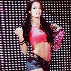 Paige pretty good as dressing as aj lee and still very pretty