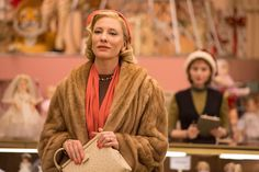 Carol - Publicity still of Cate Blanchett & Rooney Mara. The image measures 4928 * 3280 pixels and was added on 3 May Rooney Mara, Sylvester Stallone, Rocky Balboa, Cate Blanchett Carol, Patricia Highsmith, Oscar Wins, Sandy Powell, United Kingdom, Lesbian