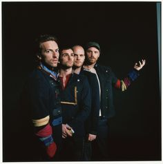 Coldplay (Chris Martin, Guy Berryman, Will Champion and Jon Buckland)