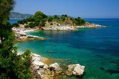Kassiopi Beaches, Corfu, Greece - has ruins and history