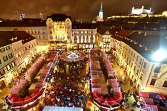 The Christmas market in Bratislava has a long tradition and is a great place for people getting together for eating and drinking traditional dishes and drinks as well as maybe do some small shopping. It is always pretty crowded and having a great atmosphere. Around 100 booths are opened every year. The market is organised …