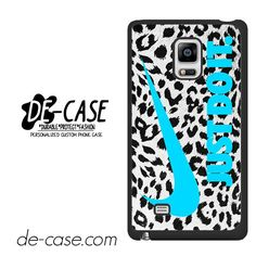 Nike Leopard Just Do It DEAL-7909 Samsung Phonecase Cover For Samsung Galaxy Note Edge