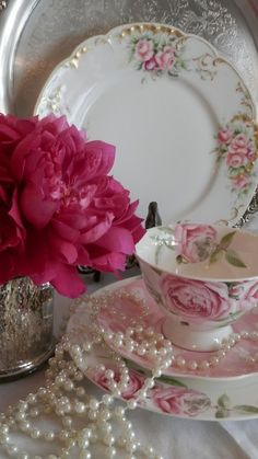 All Things Shabby and Beautiful....REMINDS ME OF MY CHINA CABINET - MY TEA PARTY DISPLAY