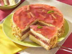 Rebarborový dort