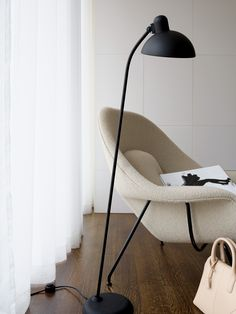 Living Room ǁ Fritz Hansen products: KAISERidell™ lamp by Christian Dell