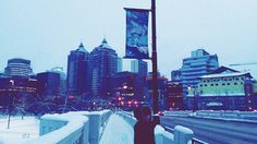 A day sent in Downtown ❄