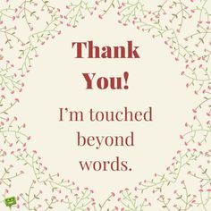 1923 Best Thank You Quotes Images Gratitude Thank You Cards