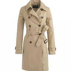 I like this trench coat that Audrey Hepburn wore in Breakfast at Tiffany's.
