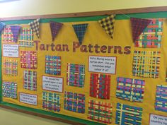 A fantastic creative activity / activities for Burns Night. Your children can design their own tartan pattern at school or at home. School Displays, Classroom Displays, Burns Night Crafts, Katie Morag, Tartan Crafts, Inclusion Classroom, Primary Teaching, Primary School, Tartan Pattern