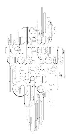 """""""Para dibujarhay quecerrar los ojosy cantar.""""  -Pablo Picasso"""
