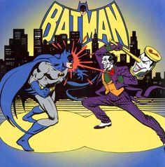 Batman vs Joker by José Luis García-López