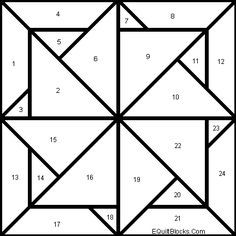 I want to make this with the following combo. . . White = 1, 4, 8, 12, 24, 21,17, 13. Colour A = 3, 6. Colour B = 5, 9. Colour C = 7, 10. Colour D = 11, 22. Colour E = 23, 19. Colour F = 20, 16. Colour G = 18, 15. Colour H = 14, 2.