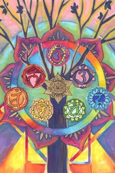 The Main Chakras <3