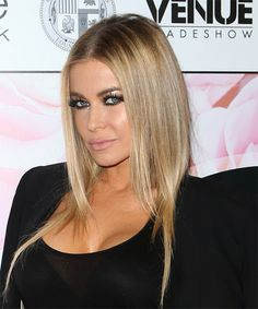 Carmen Electra Medium Straight Hairstyle. Try on this hairstyle and view styling steps! http://www.thehairstyler.com/hairstyles/casual/medium/straight/carmen-electra
