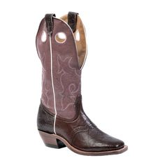 "Boulet Women's 13"" Wide Square Toe Buckaroo Boots"