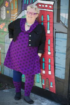 You'll Notice I am still wearing a brace at 2 months post-op from my knee replacement surgery,  But I thought it best to wear it for one of … Wearing vintage Beth Ditto