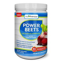 Nu-Therapy Power Beets Juice Powder (60 servings) (pack of 2)