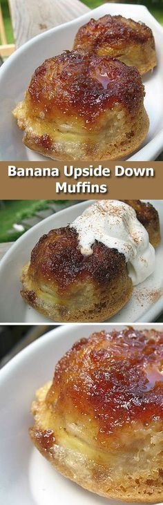 These delicious muffins are perfect for breakfast, brunch or dessert! Tired of banana bread? Try these!