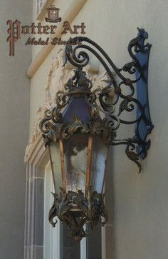 French Gas Lantern traditional