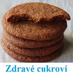 TOP 5 receptů na zdravé cukroví | Rehabilitace.info Healthy Sweets, Healthy Cooking, Vegetarian Recipes, Healthy Recipes, Top 5, I Foods, Natural Remedies, Tart, Cake Recipes